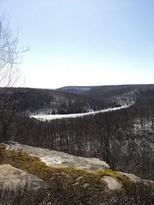 View of Mountain Springs Lake