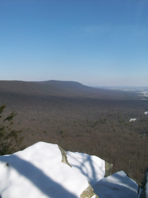 View from the South Lookout