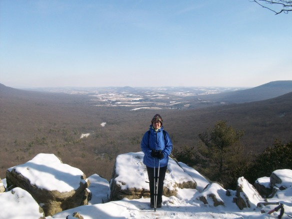 View from Hawk Mountain