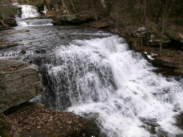 Falls on Buttermilk Creek