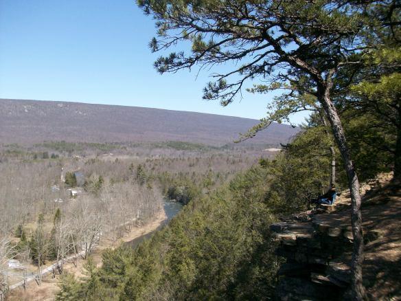 View from Chimney Rocks