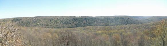 Coyote Rocks panorama
