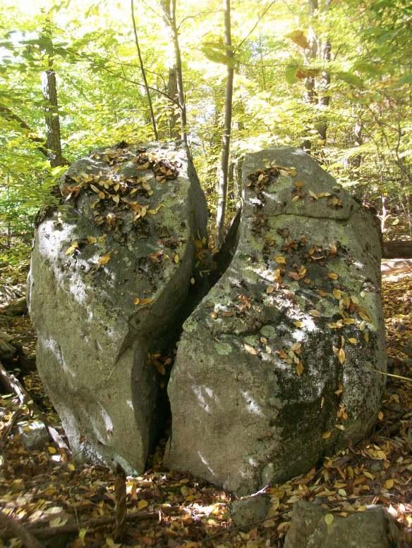 Split rock, Flat Top, SGL 57