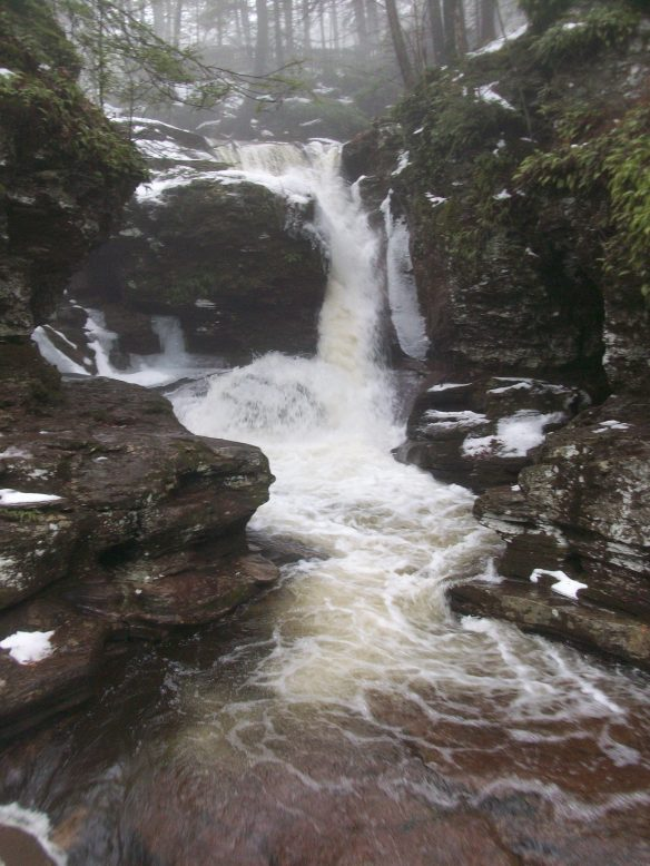 Adams Falls, Ricketts Glen State Park