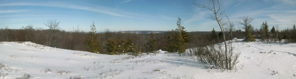 View from the balds