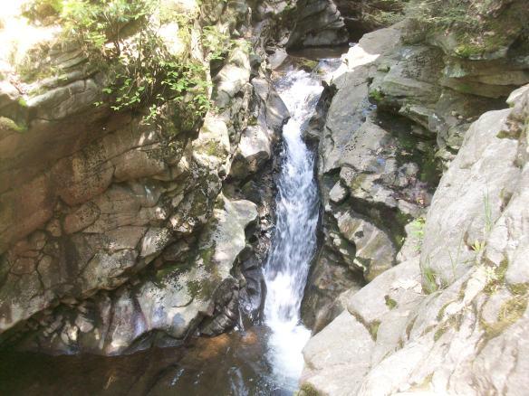 Cascade on Wheelbarrow Run, Seven Tubs Natural Area