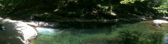 Bubble Pool panorama
