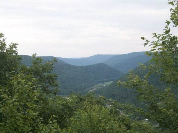 View from Band Rock