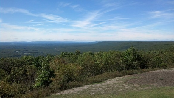 View south from Big Pocono State Park