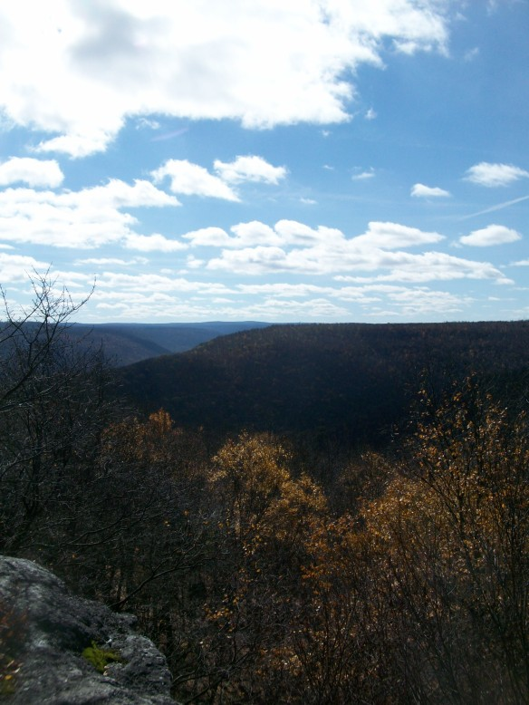 One of the views from Flat Top